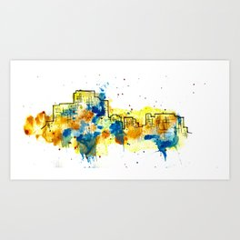 Going Downtown: Troy Art Print