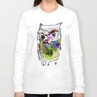 alone Long Sleeve T-shirts featuring Alone by Organic Mind
