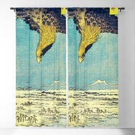 Hiroshige, Hawk Flight Over Field Blackout Curtain