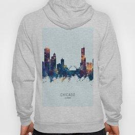 Chicago Illinois Skyline Hoody