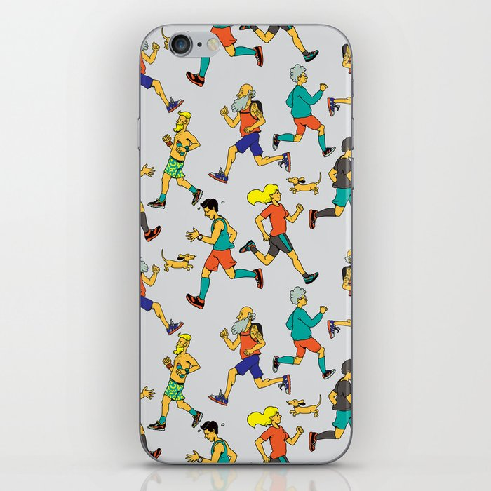 runners iPhone Skin