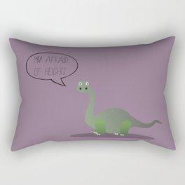 Dinophobia Rectangular Pillow