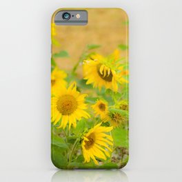 autumn flowers iPhone Case