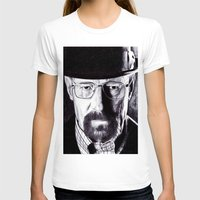 heisenberg T-shirts featuring Heisenberg  by DeMoose_Art