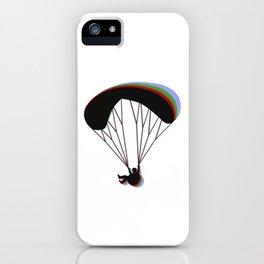Paragliding RGB iPhone Case
