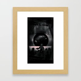 RIOT - Heavy Metal Thunder Artwork Framed Art Print