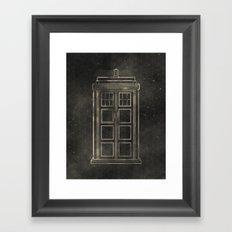 Doctor Who: Tardis Framed Art Print