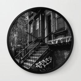 East Village VII Wall Clock