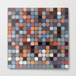 Pixels Metal Print