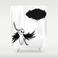 Halloween's angel Shower Curtain