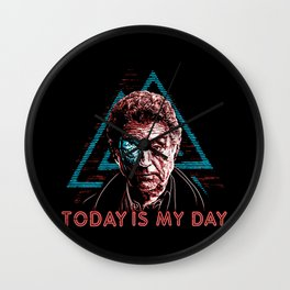 Today is Mr. Wednesday Wall Clock
