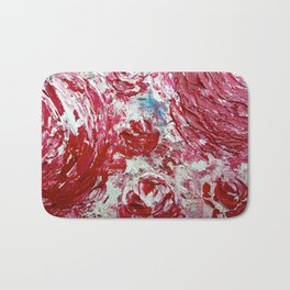 SMILE TO THE ROSES Bath Mat