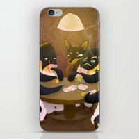 poker iPhone & iPod Skins featuring Poker by happymiaow