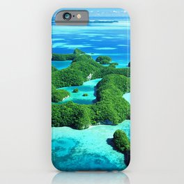 Palau Island Paradise iPhone Case