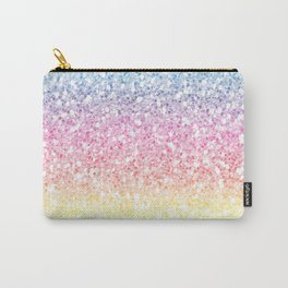 Rainbow glitter Carry-All Pouch