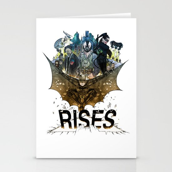 you're COLOR rises Stationery Cards