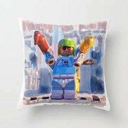 Condiment King Throw Pillow
