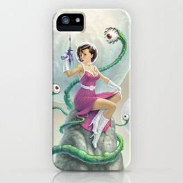 Astro Babe iPhone Case