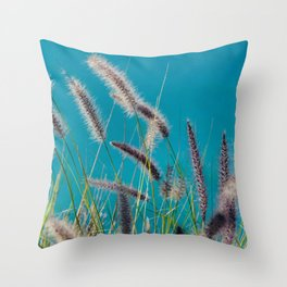 Thin herbs Throw Pillow