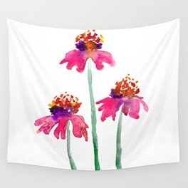 Echinacea Wall Tapestry