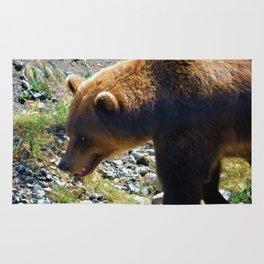 Griz - Wildlife Art Print Rug