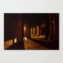 Mexican Tunnels Canvas Print