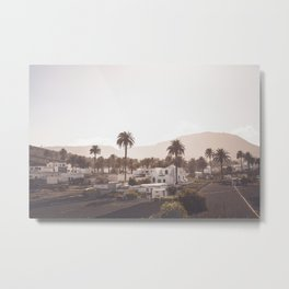The village Metal Print