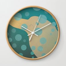Dolphin underwater! Wall Clock