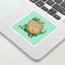 St Patricks Cakes Sticker
