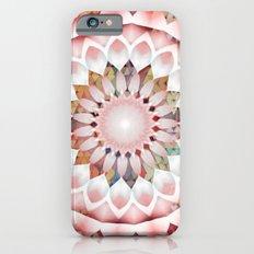 Flower Patchwork Kaleidoscope Pink Slim Case iPhone 6s