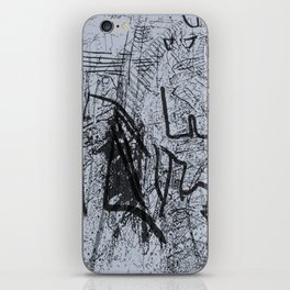 faded melody iPhone Skin