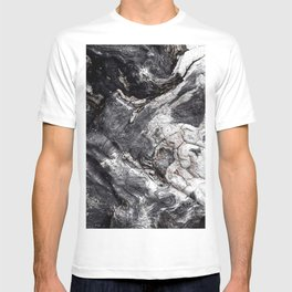 Marbled Wood - Photography by Fluid Nature T-shirt