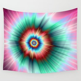 Tie Dye Comet Wall Tapestry