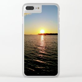 Key west Sunset Clear iPhone Case