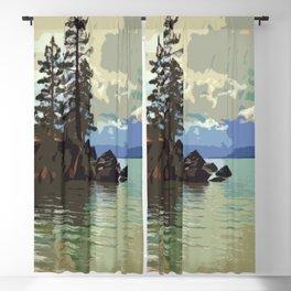 Lake Tahoe Blackout Curtain