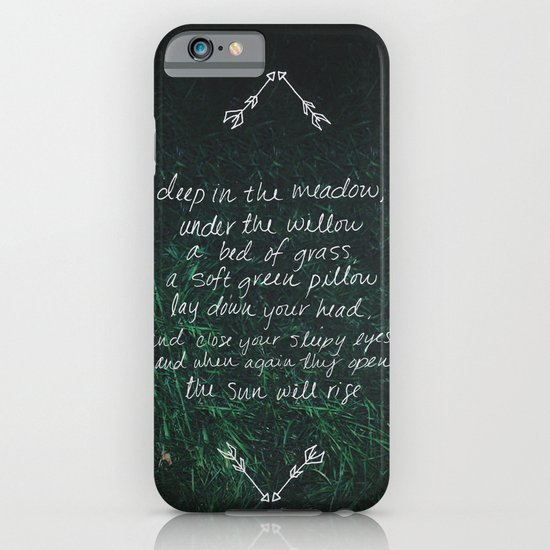 Rue's Song iPhone & iPod Case