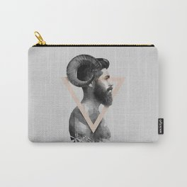 The man with horns and a beard Carry-All Pouch