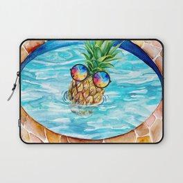 Chilling Pineapple Laptop Sleeve