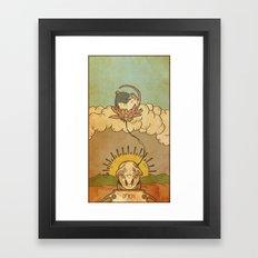 Muroidea Rat Tarot- Death Framed Art Print