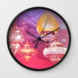 Oriental Magical Lights and Love Wall Clock