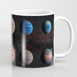 Planets : Hot Jupiter Exoplanets Coffee Mug