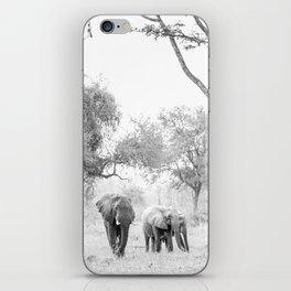 Luangwa Family iPhone Skin