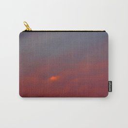Red cloud shining at sunset Carry-All Pouch