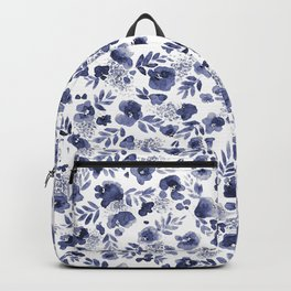 Floret Indigo Ditsy Backpack