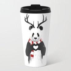 Xmas panda Travel Mug