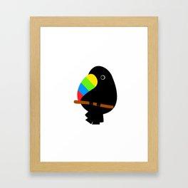 Coco Tucan Framed Art Print