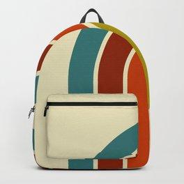 Retro 70s Color Palette Backpack