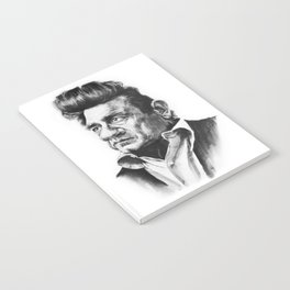 Caricature of Johnny Cash Notebook