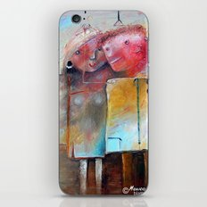 Casual Acquaintance iPhone & iPod Skin