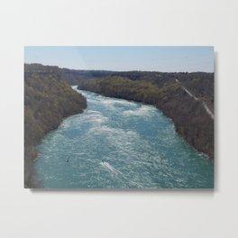 Niagara Falls Power Authority Metal Print
